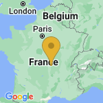 Location of Sanssat on map of France