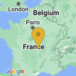 Location of Saulcet on map of France