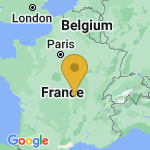Location of Trezelles on map of France