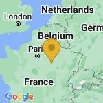 Location of Montceaux-les-Vaudes on map of France