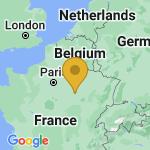 Location of Saint-Parres-les-Vaudes on map of France