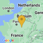 Location of Bercenay-en-Othe on map of France