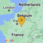 Location of Saint-Benoist-sur-Vanne on map of France