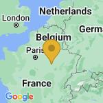 Location of La Villeneuve-Au-Chene on map of France