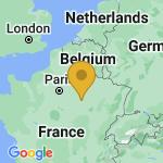 Location of Saint-Julien-les-Villas on map of France