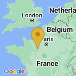 Location of Trizay-Coutretot-Saint-Serge on map of France