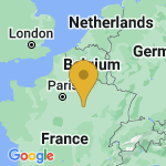 Location of Montgueux on map of France