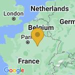 Location of La Chapelle-Saint-Luc on map of France