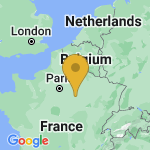 Location of Saint-Lupien on map of France