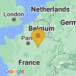 Location of Saint-Lye on map of France