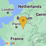 Location of Bouy-Luxembourg on map of France
