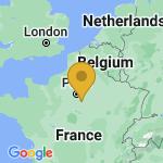 Location of Samoreau on map of France