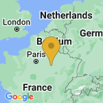 Location of Mesnil-Lettre on map of France