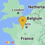 Location of Le Favril on map of France