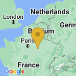 Location of Saint-Remy-sous-Barbuise on map of France