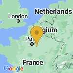 Location of Thenisy on map of France