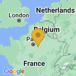Location of Sognolles-en-Montois on map of France