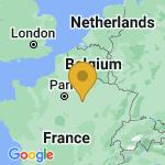 Location of Maizieres-la-Grande-Paroisse on map of France