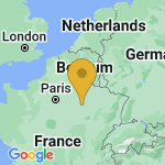Location of Balignicourt on map of France