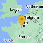 Location of Soulaires on map of France