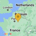 Location of La Villeneuve-Au-Chatelot on map of France