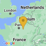 Location of Montpothier on map of France