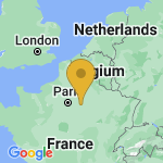 Location of Sancy-les-Provins on map of France