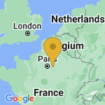 Location of Touquin on map of France