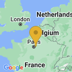 Location of Thorigny-sur-Marne on map of France