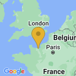 Location of Sallenelles on map of France