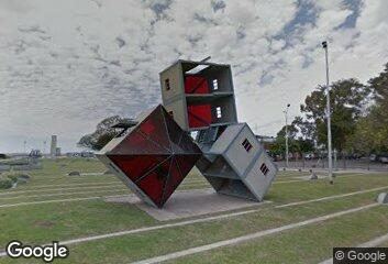 Sculpture - Dennis Oppenheim, Monument to Escape, 2001