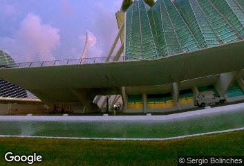 Santiago Calatrava, Prince Felipe Science Museum, 2000