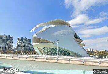 Santiago Calatrava, L'Hemisfèric, 1998