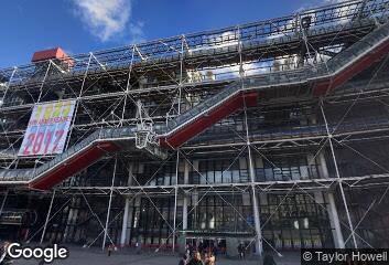Renzo Piano, Centre Georges Pompidou, 1977