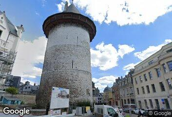 Architecture - Rouen Castle, 1210