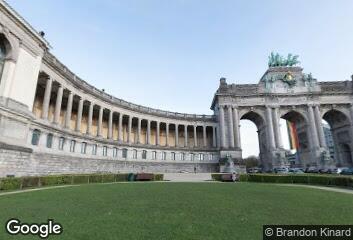 Architecture - Charles Girault, Parc du Cinquantenaire, 1905
