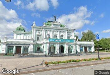 Architecture -  I.G. Hvorinov, Omsk Academic Theatre of Drama, 1905