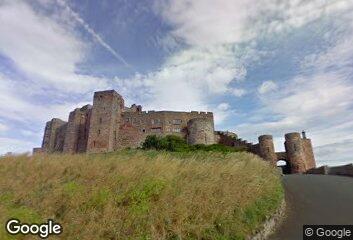 Architecture - Bamburgh Castle, 1221
