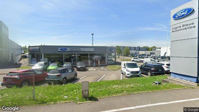 Ligne bleue automobiles saint louis for Garage ford mulhouse