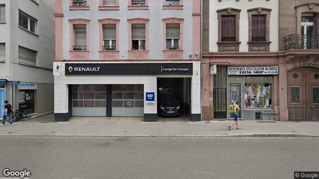 garage de l 39 europe centre strasbourg. Black Bedroom Furniture Sets. Home Design Ideas