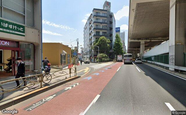 Streetview?size=640x396&location=35.6413630825251%2c139.669392485354&heading= 169.281690643514&pitch= 0
