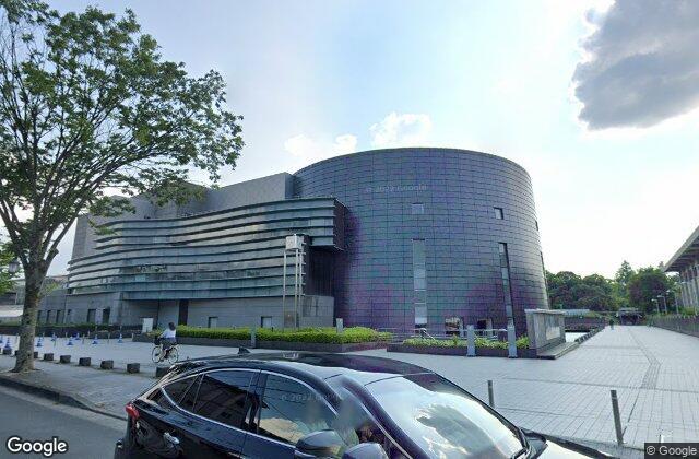 Kyoto Concert Hall, 1995, created by Arata Isozaki in Kyoto, Japan