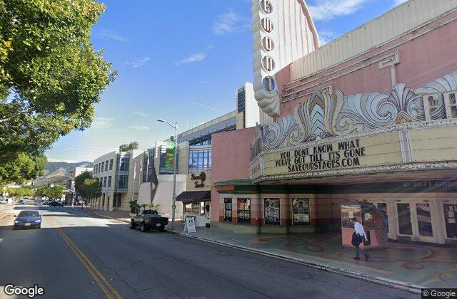 Fremont Theatre, 1940, created by S. Charles Lee in San Luis Obispo, CA, United States