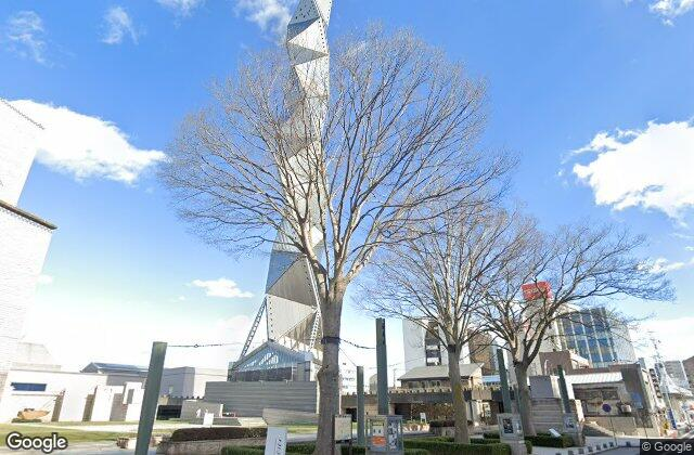 Art Tower Mito, 1990, created by Arata Isozaki in Ibaraki, Japan