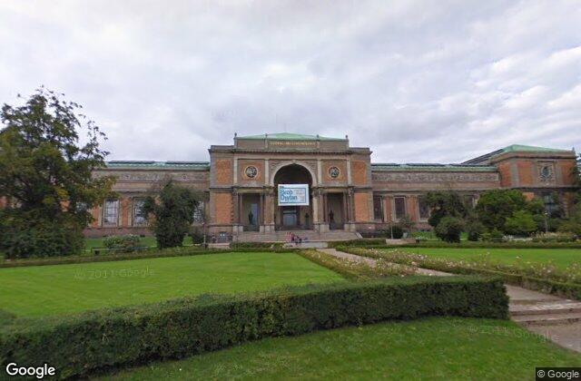Statens Museum, 1896, created by Vilhelm Dahlerup in Copenhagen, Denmark