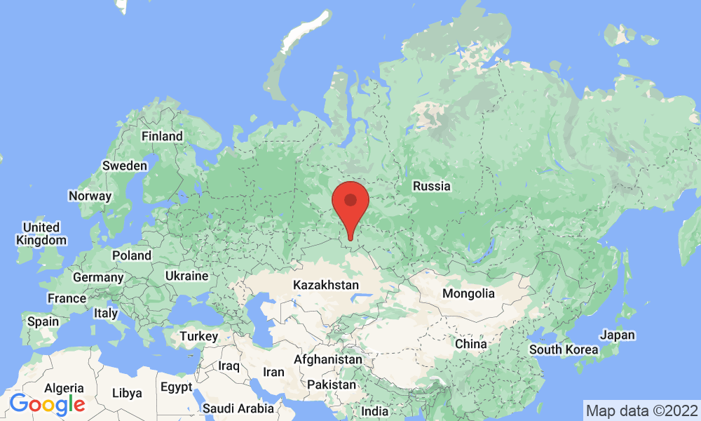 Google Map of 644070, Kuibesheva, 43, Omsk, Russia