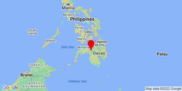 Where is Marawi located on the map?