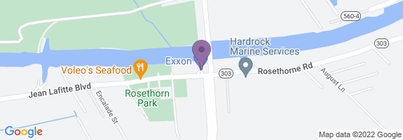 Lafitte Store 151 Map