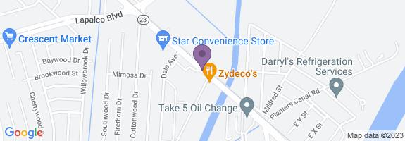 Sercovich Fuel Center Map