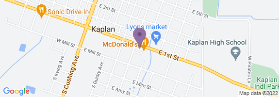 Kaplan Quick Stop Map